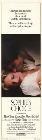 плакат фильма постер Выбор Софи