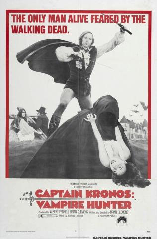 плакат фильма Капитан Кронос: Охотник на вампиров