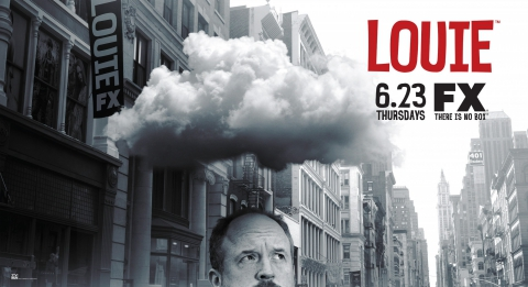 плакат фильма биллборды постер Луи*