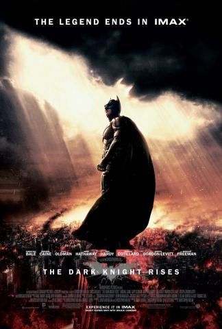 плакат фильма IMAX-постер Темный рыцарь: Возрождение легенды