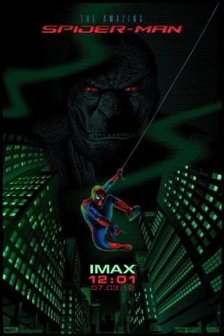плакат фильма IMAX-постер Новый Человек-паук