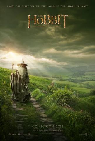 плакат фильма постер Хоббит: Нежданное путешествие