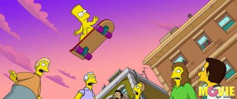 кадр №12571 из фильма Симпсоны в кино