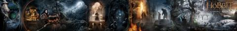плакат фильма баннер Хоббит: Нежданное путешествие