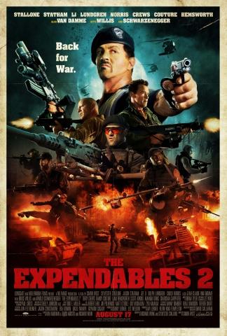 плакат фильма постер Неудержимые 2