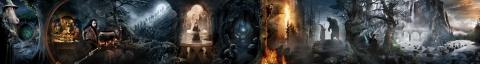 плакат фильма баннер textless Хоббит: Нежданное путешествие
