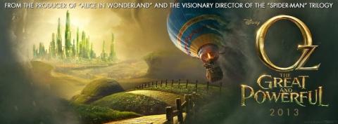 плакат фильма тизер баннер Оз: Великий и Ужасный
