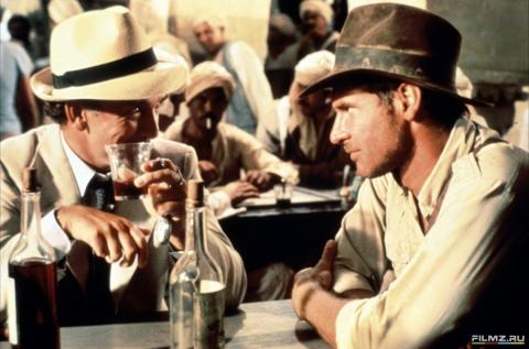кадры из фильма Индиана Джонс: В поисках утраченного ковчега Харрисон Форд, Пол Фриман,