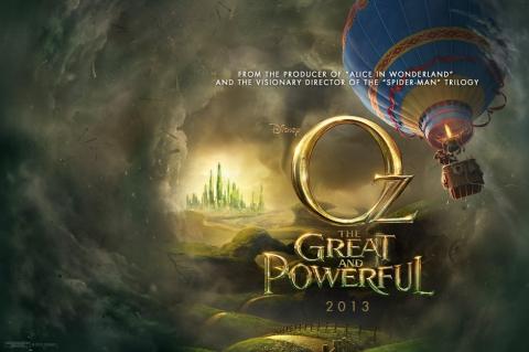 плакат фильма тизер биллборды Оз: Великий и Ужасный