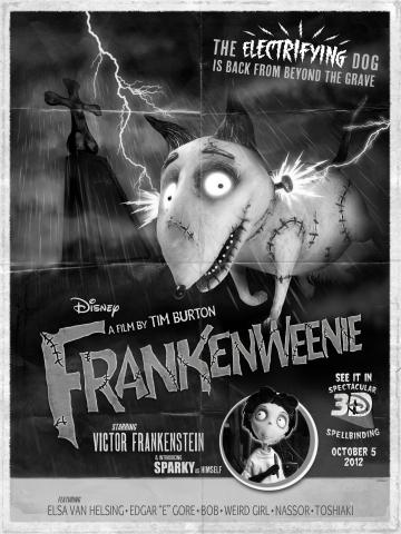 плакат фильма постер Франкенвини