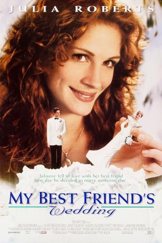 плакат фильма постер Свадьба лучшего друга