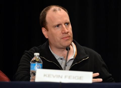 фотосессия «Железный человек 3» на Comic-Con 2012 Кевин Файги,