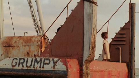 кадры из фильма Звери дикого юга Кувенжане Уоллис,
