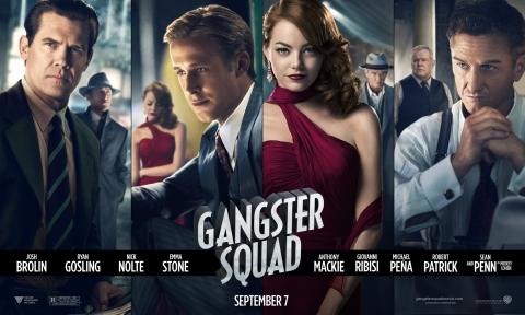 плакат фильма характер-постер баннер Охотники на гангстеров