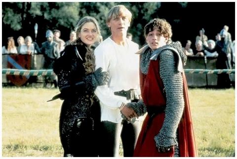 кадры из фильма Первый рыцарь при дворе короля Артура Томас Иэн Николас, Кейт Уинслет, Дэниел Крэйг,