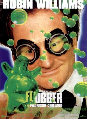 плакат фильма постер Флаббер