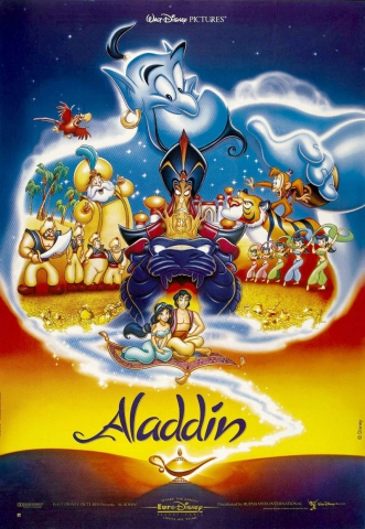 плакат фильма постер Аладдин