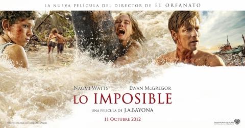 плакат фильма баннер Невозможное