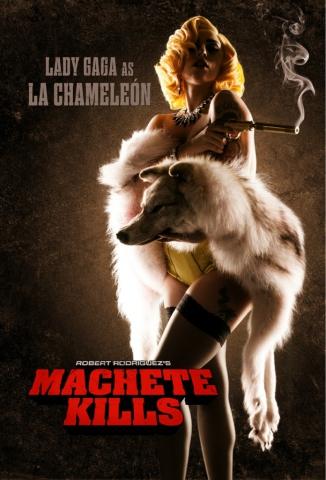 плакат фильма характер-постер Мачете убивает
