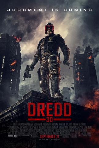 плакат фильма постер Судья Дредд 3D