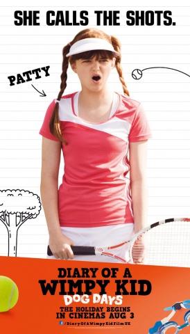 плакат фильма характер-постер Дневник слабака 3*
