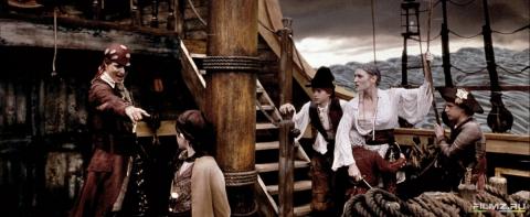 кадры из фильма Волшебная страна Кейт Уинслет, Джонни Депп,