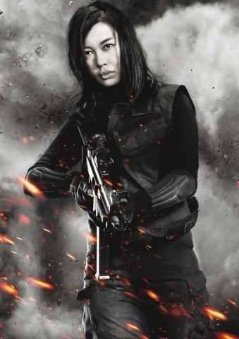 плакат фильма характер-постер textless Неудержимые 2