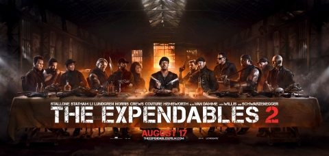плакат фильма баннер Неудержимые 2