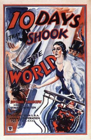 плакат фильма Октябрь