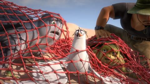 кадры из фильма Шевели ластами 2