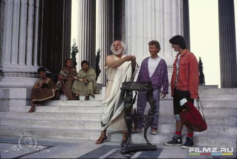кадр №128727 из фильма Невероятные приключения Билла и Тэда