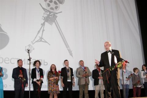церемония открытия XX фестиваль «Окно в Европу» Оксана Бычкова, Ксения Раппопорт, Роман Балаян,