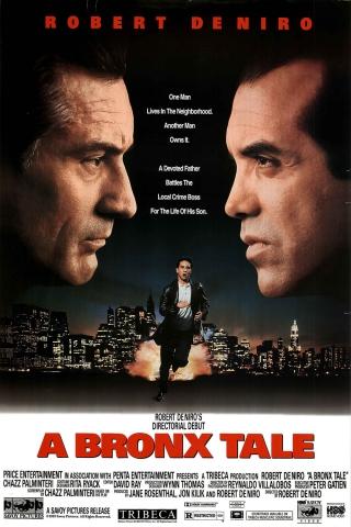 плакат фильма постер Бронкская история