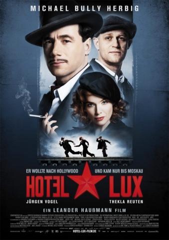 плакат фильма постер Отель «Люкс»