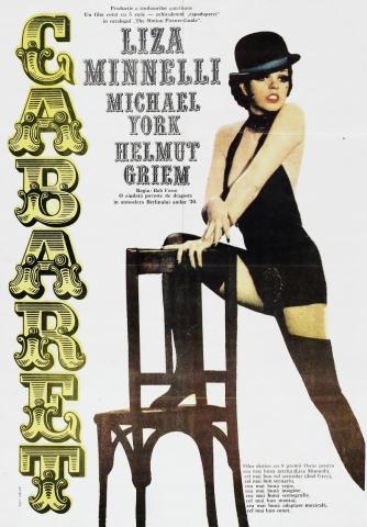 плакат фильма постер Кабаре