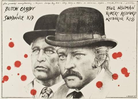 плакат фильма Буч Кэссиди и Сандэнс Кид