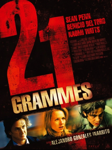 плакат фильма постер 21 грамм