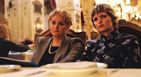 кадры из фильма Пока ночь не разлучит Анна Михалкова, Авдотья Смирнова,