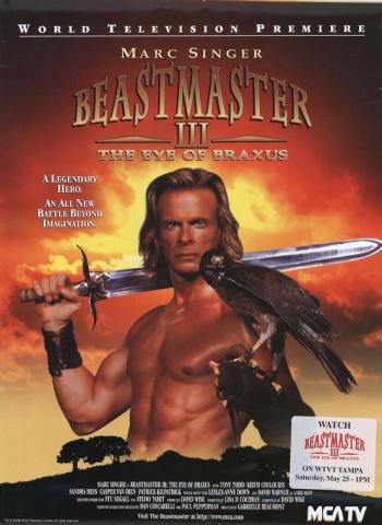 плакат фильма Повелитель зверей: Глаз Браксуса