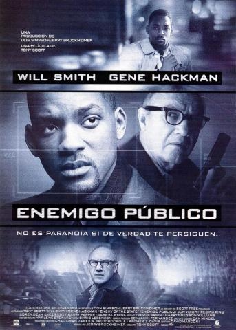плакат фильма Враг государства