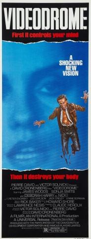 плакат фильма баннер Видеодром
