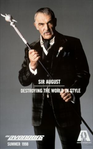 плакат фильма характер-постер Мстители Шон Коннери,