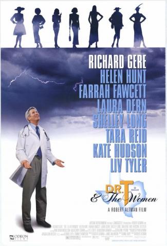 плакат фильма постер Доктор Т и его женщины