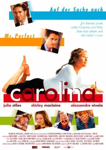 плакат фильма постер Каролина