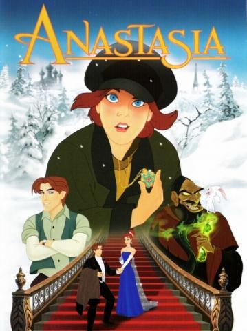 плакат фильма постер Анастасия