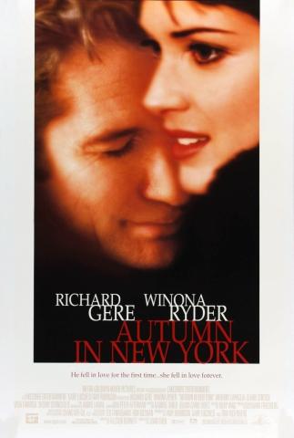плакат фильма постер Осень в Нью-Йорке