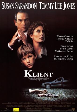 плакат фильма постер Клиент