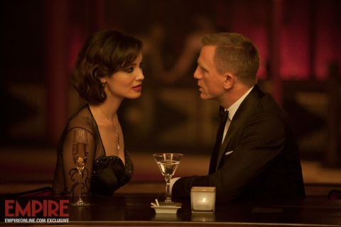 кадры из фильма 007 Координаты Скайфолл Беренис Марло, Дэниел Крэйг,