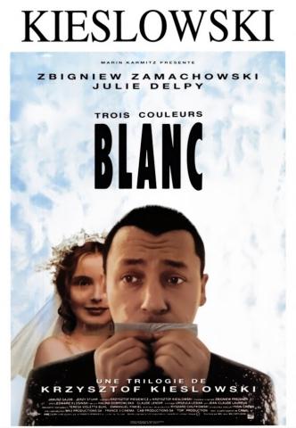 плакат фильма постер Три цвета: Белый