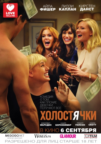 плакат фильма постер локализованные Холостячки